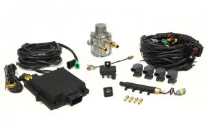 Micro Kit 4 Cil. Max Antonio Iniettori Divisi + Riduttore GPL