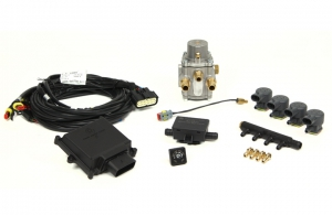 "Micro Kit 4 Cil.  ""E"" separate injectors + LPG Reducer"