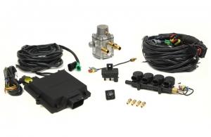 Micro Kit 4 Cil. Max Antonio Iniettori Uniti + Riduttore GPL