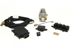 "Micro Kit 4 Cil. ""E"" Integrated injectors + LPG Reducer"
