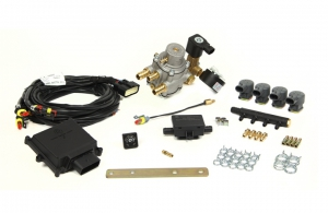 "Mini Kit 4 Cyl. Max ""E"" Divided CNG Injectors"