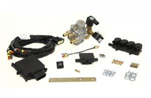"""Mini Kit 4 Cil. Max """"E""""  Iniettori Uniti CNG"""